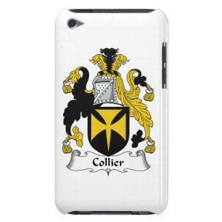 Escudo de la familia del minero iPod touch Case-Mate protector