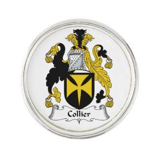 Escudo de la familia del minero insignia