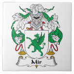 Escudo de la familia del MIR Azulejos Ceramicos