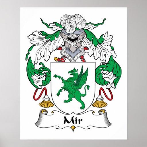 Escudo de la familia del MIR Impresiones