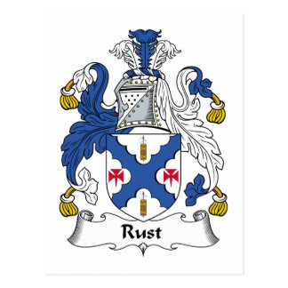 Escudo de la familia del moho postal