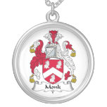 Escudo de la familia del monje joyerías