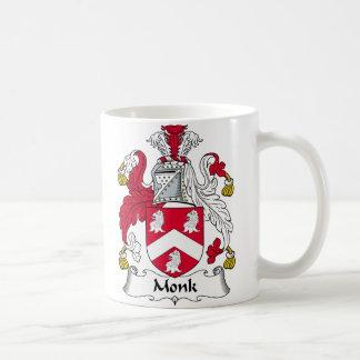 Escudo de la familia del monje taza