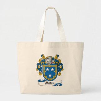 Escudo de la familia del Moray Bolsas De Mano