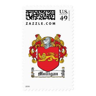 Escudo de la familia del Mulligan Sello