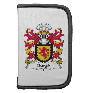 Escudo de la familia del municipio escocés organizadores