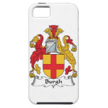 Escudo de la familia del municipio escocés iPhone 5 cárcasa