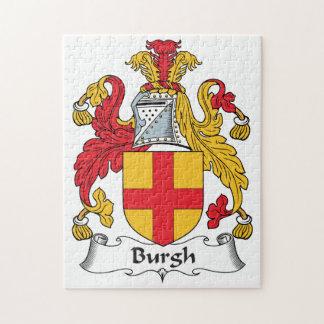 Escudo de la familia del municipio escocés puzzle