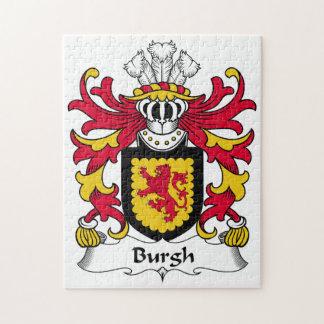 Escudo de la familia del municipio escocés rompecabezas con fotos