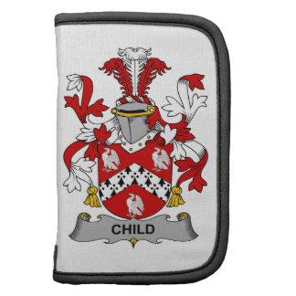 Escudo de la familia del niño planificadores