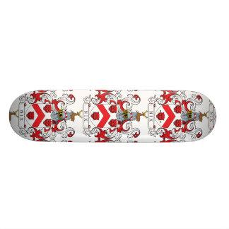Escudo de la familia del Nix Tabla De Skate