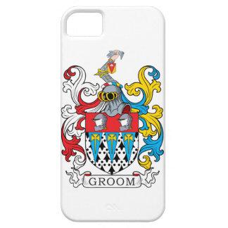 Escudo de la familia del novio iPhone 5 carcasas