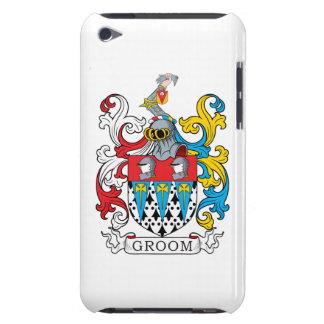 Escudo de la familia del novio iPod touch protectores