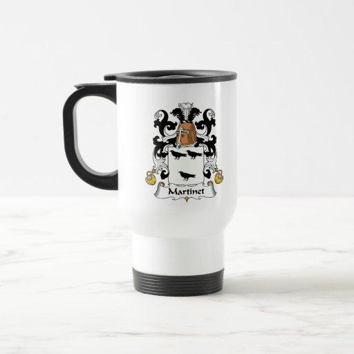 Escudo de la familia del ordenancista taza de viaje de acero inoxidable