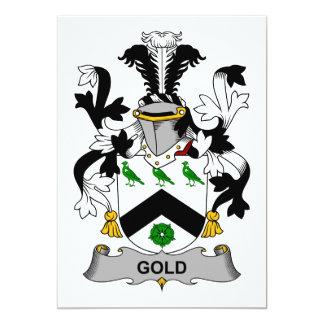 Escudo de la familia del oro