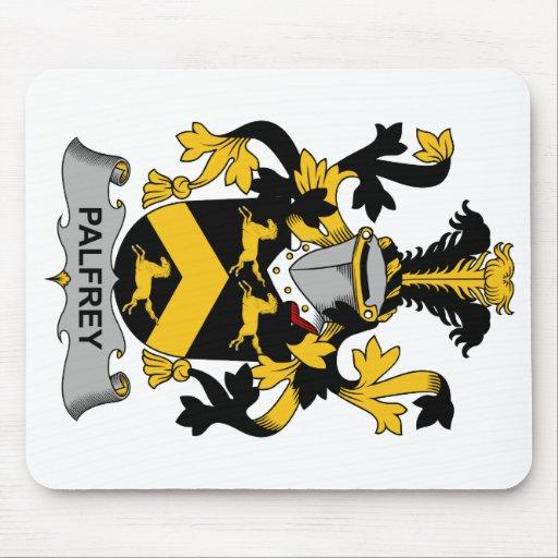 Escudo de la familia del palafrén alfombrillas de raton