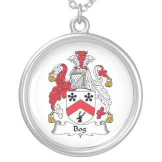 Escudo de la familia del pantano joyerias personalizadas