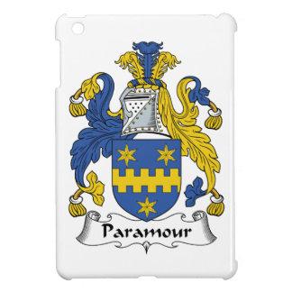 Escudo de la familia del Paramour iPad Mini Cárcasas