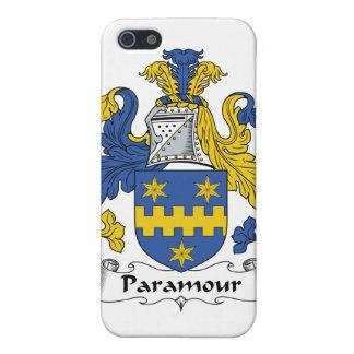 Escudo de la familia del Paramour iPhone 5 Coberturas