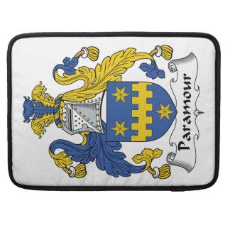 Escudo de la familia del Paramour Funda Macbook Pro