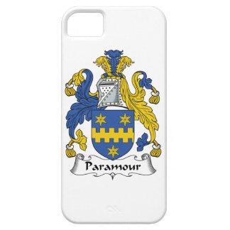 Escudo de la familia del Paramour iPhone 5 Cárcasa