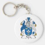 Escudo de la familia del Parry Llavero Personalizado