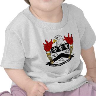 Escudo de la familia del partidario camiseta