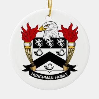 Escudo de la familia del partidario ornato