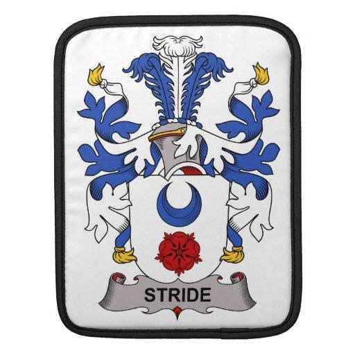 Escudo de la familia del paso grande fundas para iPads