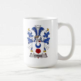 Escudo de la familia del paso grande taza básica blanca