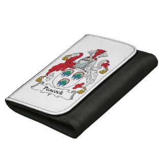 Escudo de la familia del pavo real