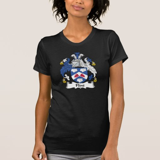 Escudo de la familia del pedernal camiseta