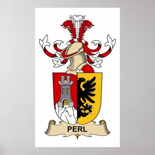 Escudo de la familia del Perl Poster