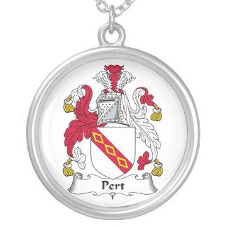 Escudo de la familia del Pert Colgante Redondo