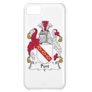 Escudo de la familia del Pert Funda Para iPhone 5C