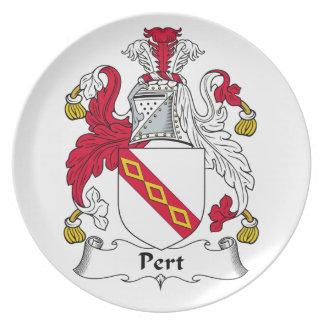 Escudo de la familia del Pert Plato De Cena