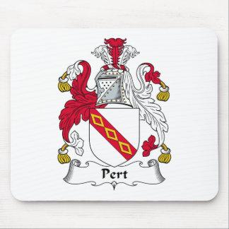 Escudo de la familia del Pert Tapetes De Ratón