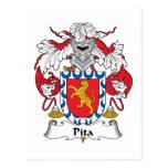 Escudo de la familia del Pita Postal