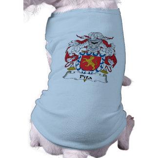 Escudo de la familia del Pita Camisas De Perritos