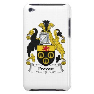 Escudo de la familia del preboste barely there iPod protectores