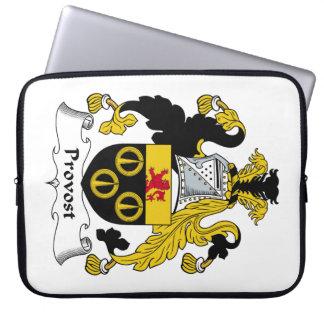 Escudo de la familia del preboste funda portátil