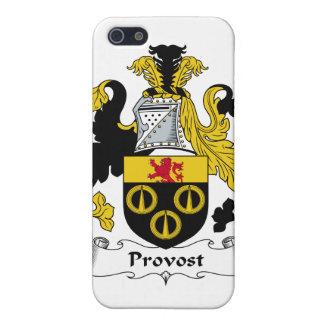 Escudo de la familia del preboste iPhone 5 fundas