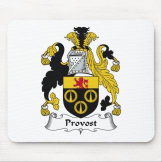 Escudo de la familia del preboste alfombrilla de ratón