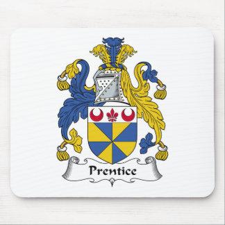 Escudo de la familia del Prentice Tapetes De Ratones