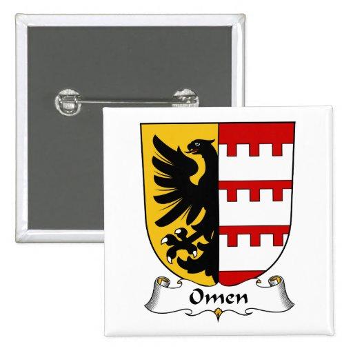 Escudo de la familia del presagio pin