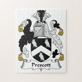 Escudo de la familia del Prescott Puzzle Con Fotos