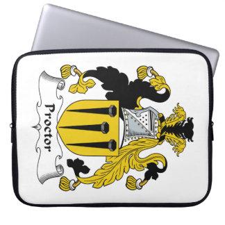 Escudo de la familia del procurador fundas portátiles