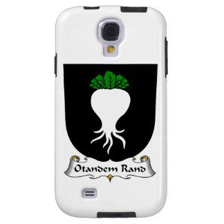 Escudo de la familia del rand de Otandem Funda Para Galaxy S4