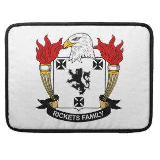 Escudo de la familia del raquitismo funda para macbook pro