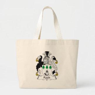 Escudo de la familia del remiendo bolsas de mano